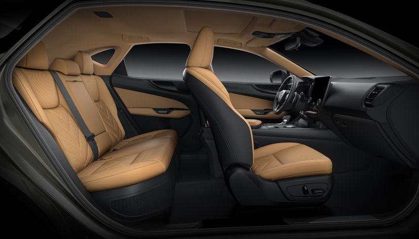 Lexus NX 2022 didedah – generasi kedua dirombak sepenuhnya, dapat enjin hibrid, PHEV dan 2.4 Turbo Image #1306982