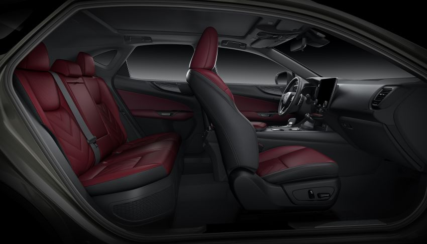 Lexus NX 2022 didedah – generasi kedua dirombak sepenuhnya, dapat enjin hibrid, PHEV dan 2.4 Turbo Image #1306984