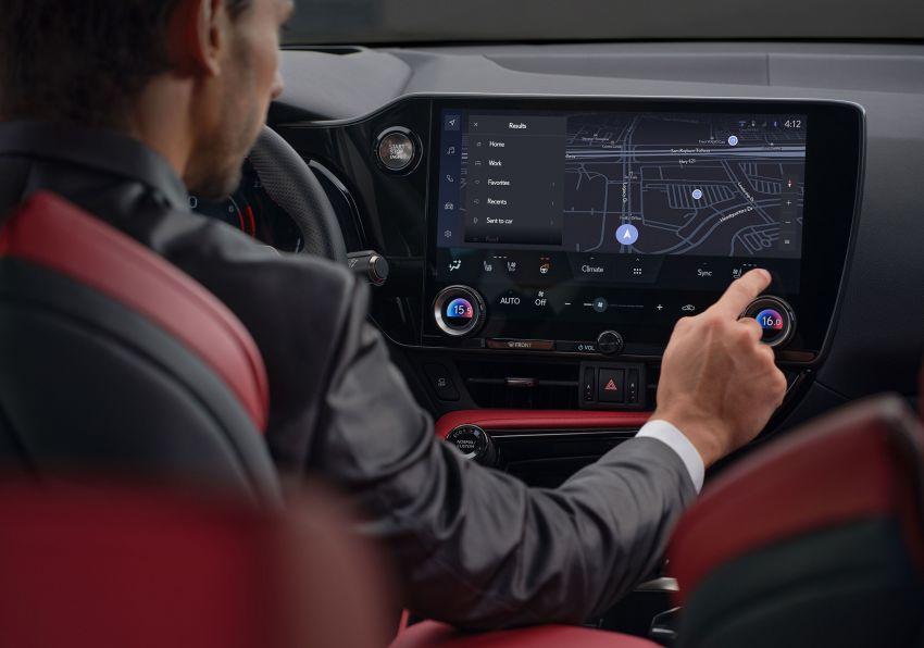 Lexus NX 2022 didedah – generasi kedua dirombak sepenuhnya, dapat enjin hibrid, PHEV dan 2.4 Turbo Image #1306877