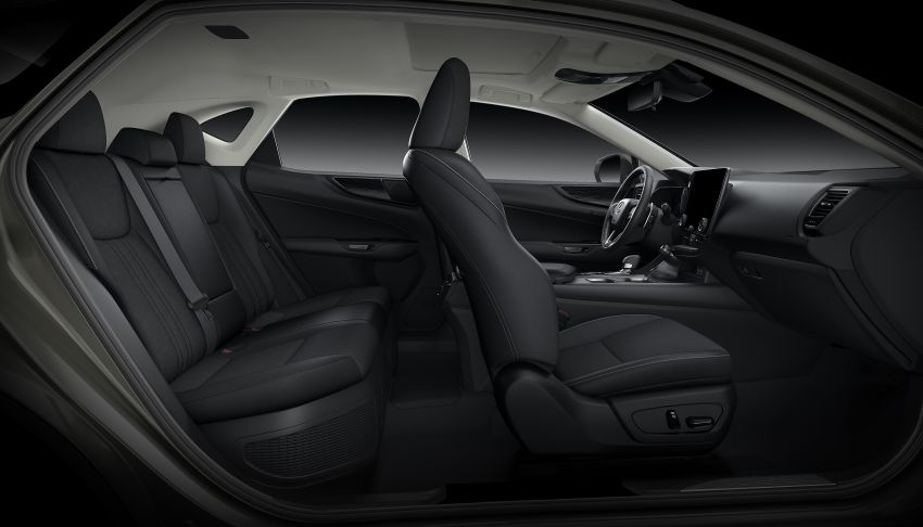 Lexus NX 2022 didedah – generasi kedua dirombak sepenuhnya, dapat enjin hibrid, PHEV dan 2.4 Turbo Image #1306986