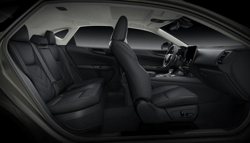 Lexus NX 2022 didedah – generasi kedua dirombak sepenuhnya, dapat enjin hibrid, PHEV dan 2.4 Turbo Image #1306987