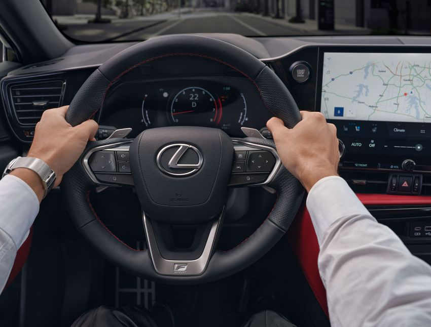 2022 Lexus NX officially revealed – second-gen SUV gets PHEV, 2.4 Turbo; new rear logo, interior concept Image #1306389