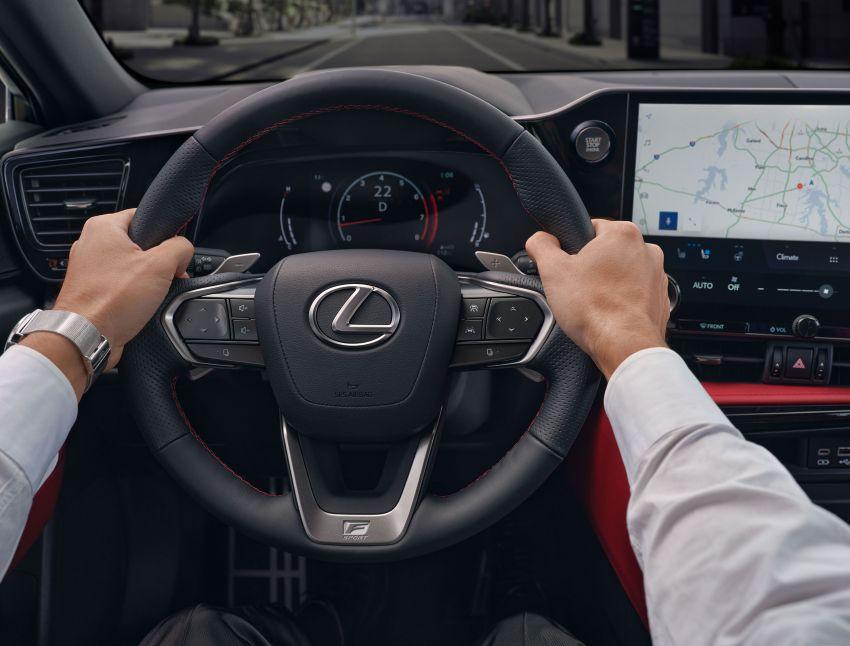 Lexus NX 2022 didedah – generasi kedua dirombak sepenuhnya, dapat enjin hibrid, PHEV dan 2.4 Turbo Image #1306878