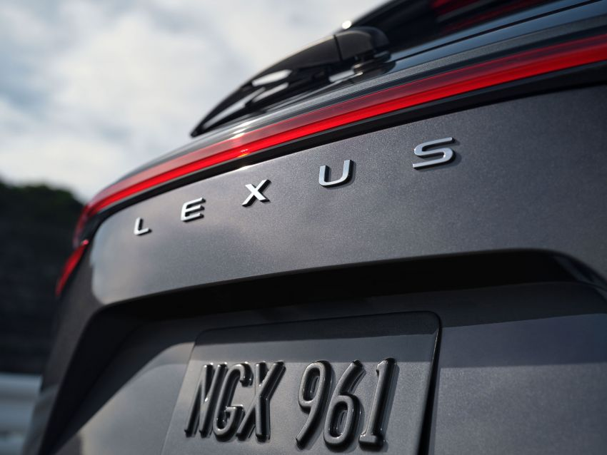 2022 Lexus NX officially revealed – second-gen SUV gets PHEV, 2.4 Turbo; new rear logo, interior concept Image #1306390