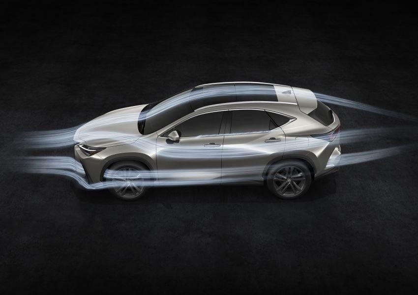 Lexus NX 2022 didedah – generasi kedua dirombak sepenuhnya, dapat enjin hibrid, PHEV dan 2.4 Turbo Image #1307027