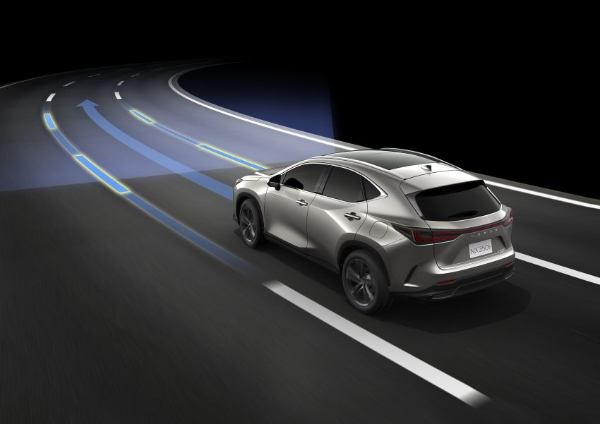 2022 Lexus NX officially revealed – second-gen SUV gets PHEV, 2.4 Turbo; new rear logo, interior concept Image #1306544