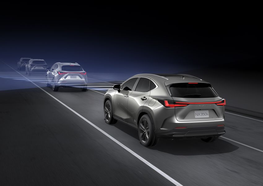 2022 Lexus NX officially revealed – second-gen SUV gets PHEV, 2.4 Turbo; new rear logo, interior concept Image #1306547