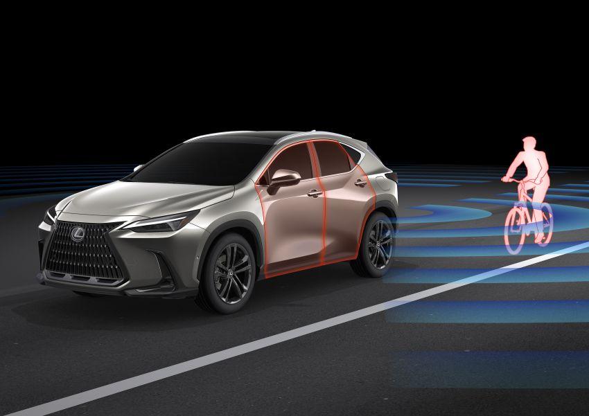 Lexus NX 2022 didedah – generasi kedua dirombak sepenuhnya, dapat enjin hibrid, PHEV dan 2.4 Turbo Image #1307035