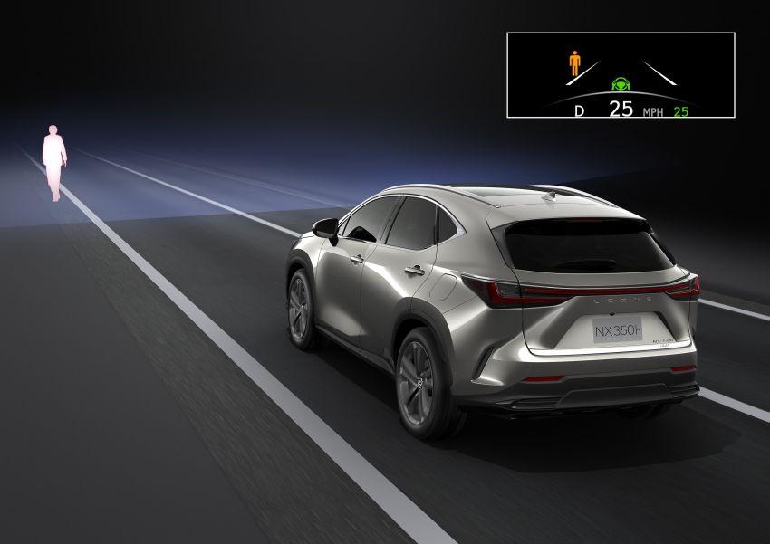 Lexus NX 2022 didedah – generasi kedua dirombak sepenuhnya, dapat enjin hibrid, PHEV dan 2.4 Turbo Image #1307038