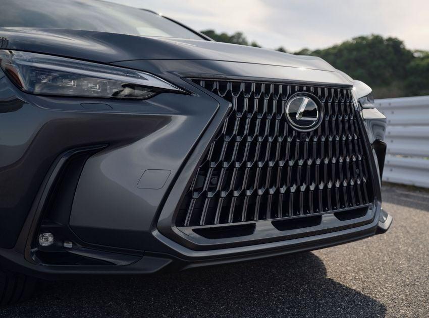 Lexus NX 2022 didedah – generasi kedua dirombak sepenuhnya, dapat enjin hibrid, PHEV dan 2.4 Turbo Image #1306881