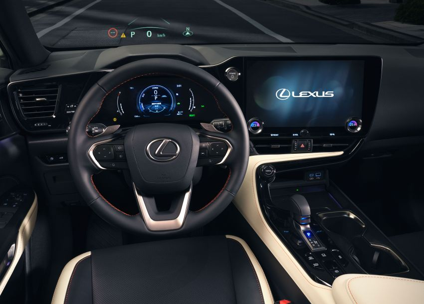 2022 Lexus NX officially revealed – second-gen SUV gets PHEV, 2.4 Turbo; new rear logo, interior concept Image #1306393