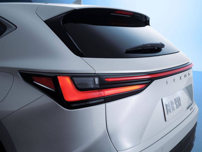 2022 Lexus NX officially revealed – second-gen SUV gets PHEV, 2.4 Turbo; new rear logo, interior concept Image #1306396