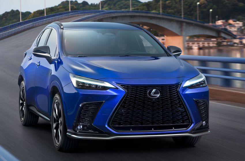 2022 Lexus NX officially revealed – second-gen SUV gets PHEV, 2.4 Turbo; new rear logo, interior concept Image #1306379