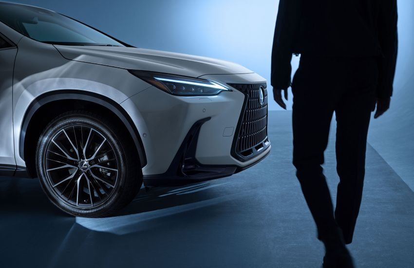 2022 Lexus NX officially revealed – second-gen SUV gets PHEV, 2.4 Turbo; new rear logo, interior concept Image #1306398