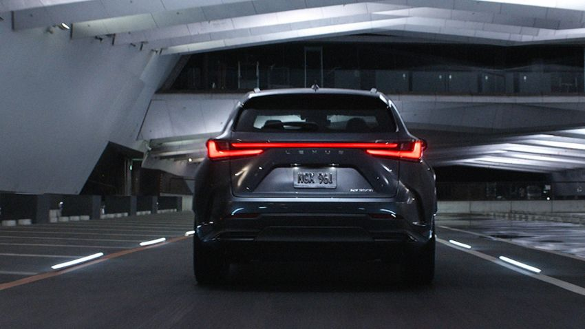 2022 Lexus NX officially revealed – second-gen SUV gets PHEV, 2.4 Turbo; new rear logo, interior concept Image #1306426