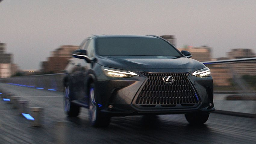 2022 Lexus NX officially revealed – second-gen SUV gets PHEV, 2.4 Turbo; new rear logo, interior concept Image #1306427