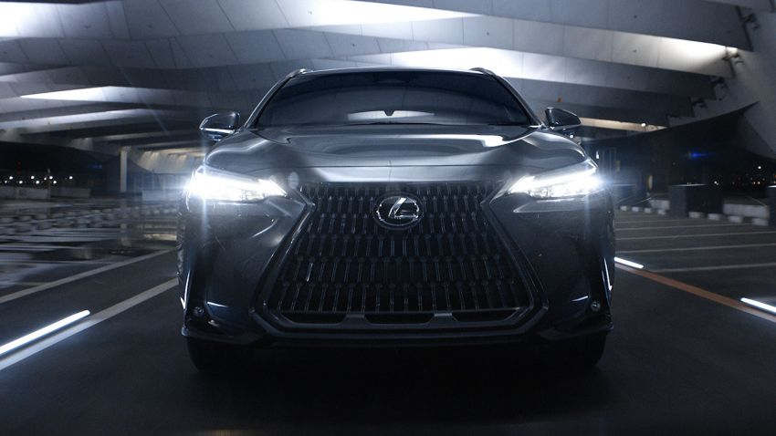 2022 Lexus NX officially revealed – second-gen SUV gets PHEV, 2.4 Turbo; new rear logo, interior concept Image #1306428
