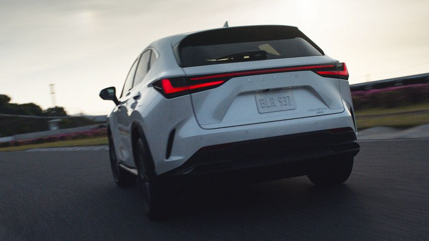 2022 Lexus NX officially revealed – second-gen SUV gets PHEV, 2.4 Turbo; new rear logo, interior concept Image #1306430