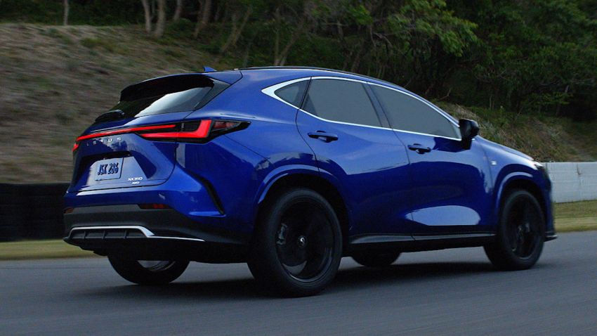 2022 Lexus NX officially revealed – second-gen SUV gets PHEV, 2.4 Turbo; new rear logo, interior concept Image #1306431