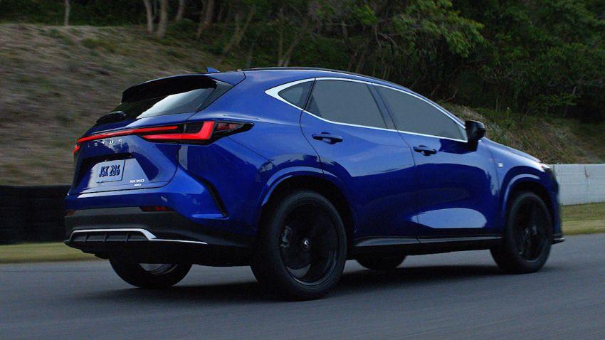 Lexus NX 2022 didedah – generasi kedua dirombak sepenuhnya, dapat enjin hibrid, PHEV dan 2.4 Turbo Image #1306894