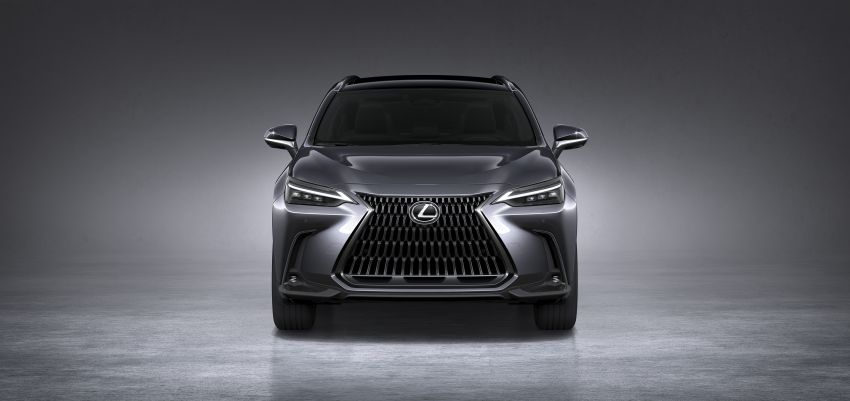 2022 Lexus NX officially revealed – second-gen SUV gets PHEV, 2.4 Turbo; new rear logo, interior concept Image #1306432