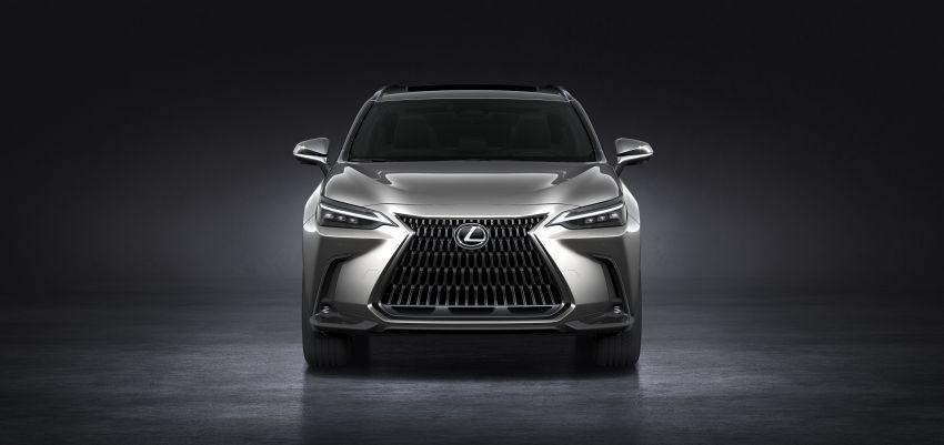 Lexus NX 2022 didedah – generasi kedua dirombak sepenuhnya, dapat enjin hibrid, PHEV dan 2.4 Turbo Image #1306896