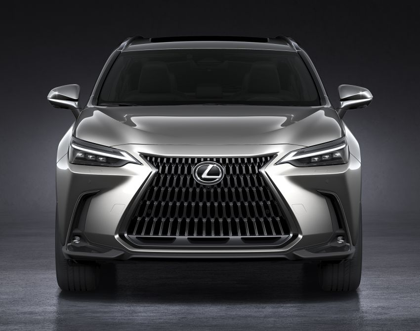 2022 Lexus NX officially revealed – second-gen SUV gets PHEV, 2.4 Turbo; new rear logo, interior concept Image #1306433