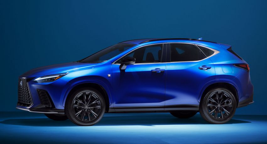 2022 Lexus NX officially revealed – second-gen SUV gets PHEV, 2.4 Turbo; new rear logo, interior concept Image #1306380