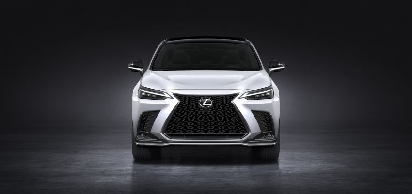 2022 Lexus NX officially revealed – second-gen SUV gets PHEV, 2.4 Turbo; new rear logo, interior concept Image #1306434