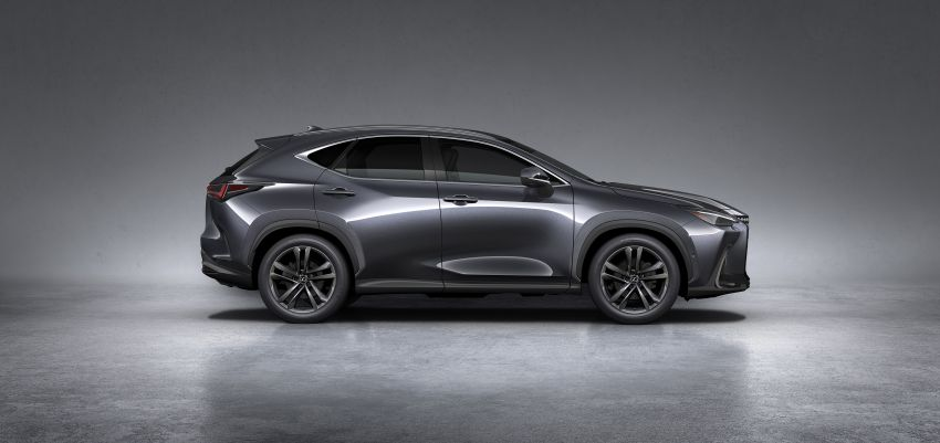 2022 Lexus NX officially revealed – second-gen SUV gets PHEV, 2.4 Turbo; new rear logo, interior concept Image #1306435