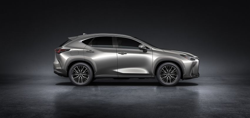 2022 Lexus NX officially revealed – second-gen SUV gets PHEV, 2.4 Turbo; new rear logo, interior concept Image #1306436