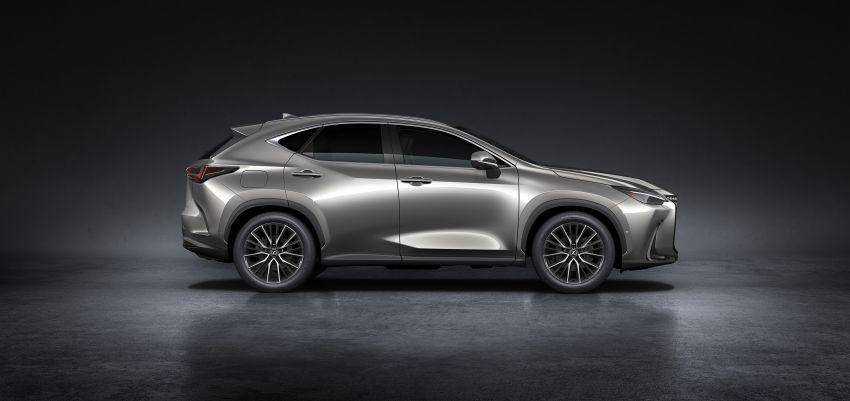 Lexus NX 2022 didedah – generasi kedua dirombak sepenuhnya, dapat enjin hibrid, PHEV dan 2.4 Turbo Image #1306899