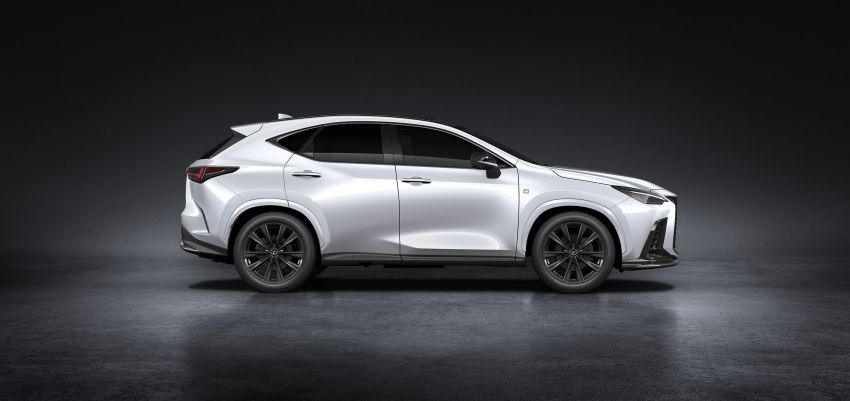 2022 Lexus NX officially revealed – second-gen SUV gets PHEV, 2.4 Turbo; new rear logo, interior concept Image #1306437