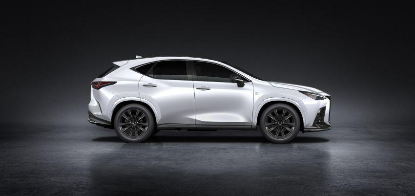 Lexus NX 2022 didedah – generasi kedua dirombak sepenuhnya, dapat enjin hibrid, PHEV dan 2.4 Turbo Image #1306900