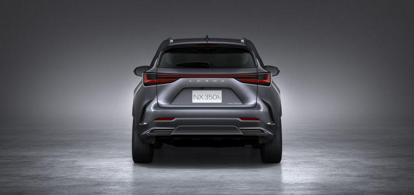 Lexus NX 2022 didedah – generasi kedua dirombak sepenuhnya, dapat enjin hibrid, PHEV dan 2.4 Turbo Image #1306901