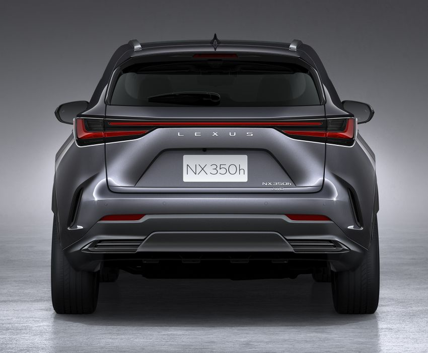 2022 Lexus NX officially revealed – second-gen SUV gets PHEV, 2.4 Turbo; new rear logo, interior concept Image #1306438