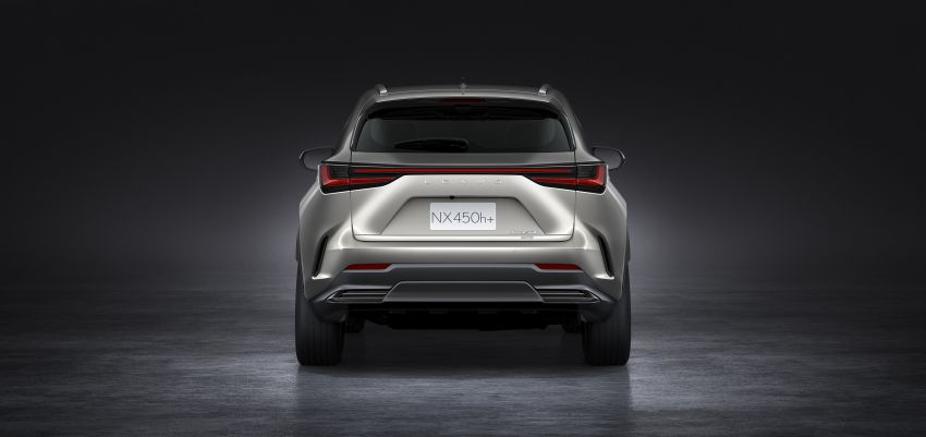 2022 Lexus NX officially revealed – second-gen SUV gets PHEV, 2.4 Turbo; new rear logo, interior concept Image #1306439