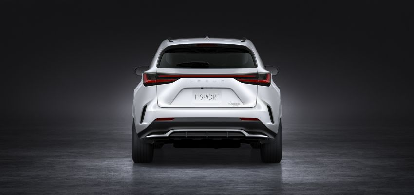 2022 Lexus NX officially revealed – second-gen SUV gets PHEV, 2.4 Turbo; new rear logo, interior concept Image #1306440