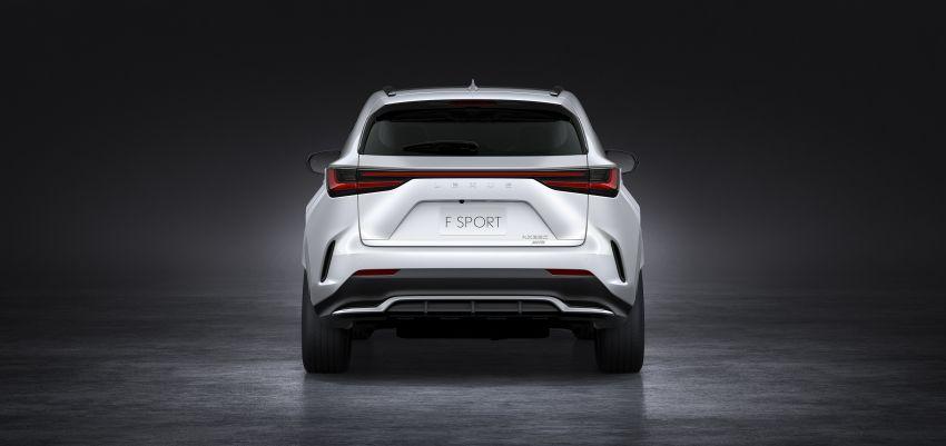 Lexus NX 2022 didedah – generasi kedua dirombak sepenuhnya, dapat enjin hibrid, PHEV dan 2.4 Turbo Image #1306903