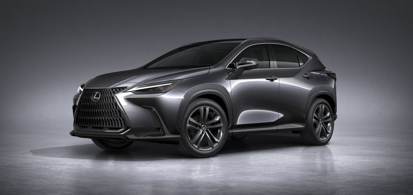 2022 Lexus NX officially revealed – second-gen SUV gets PHEV, 2.4 Turbo; new rear logo, interior concept Image #1306441