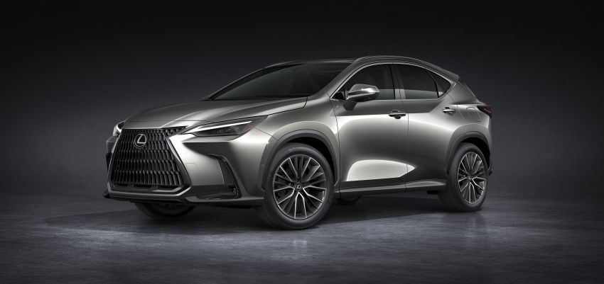2022 Lexus NX officially revealed – second-gen SUV gets PHEV, 2.4 Turbo; new rear logo, interior concept Image #1306442