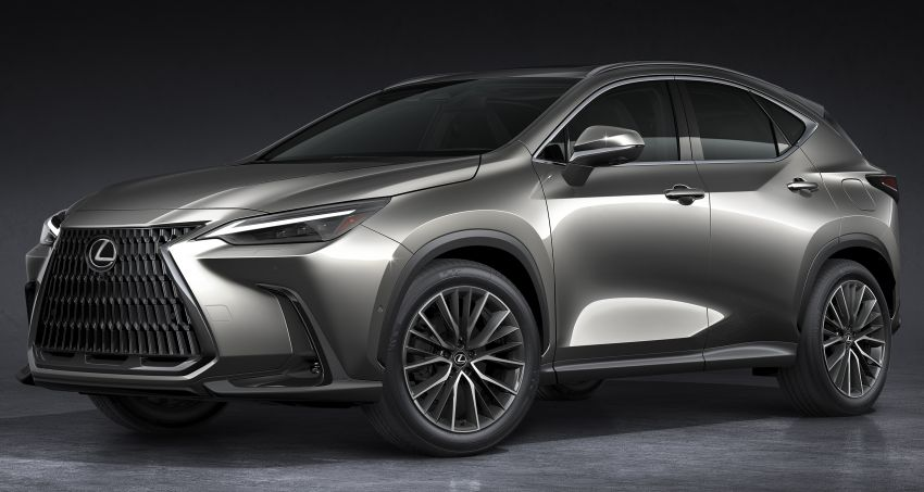 Lexus NX 2022 didedah – generasi kedua dirombak sepenuhnya, dapat enjin hibrid, PHEV dan 2.4 Turbo Image #1306905