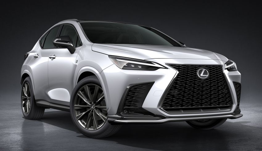 2022 Lexus NX officially revealed – second-gen SUV gets PHEV, 2.4 Turbo; new rear logo, interior concept Image #1306443