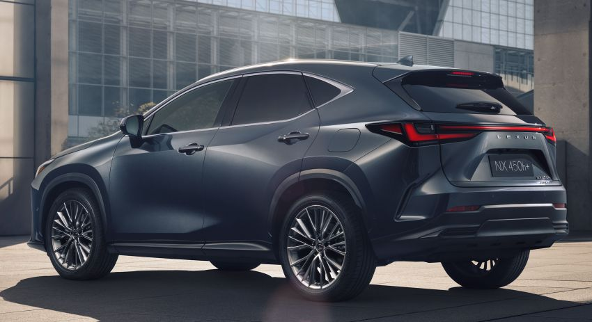 2022 Lexus NX officially revealed – second-gen SUV gets PHEV, 2.4 Turbo; new rear logo, interior concept Image #1306381