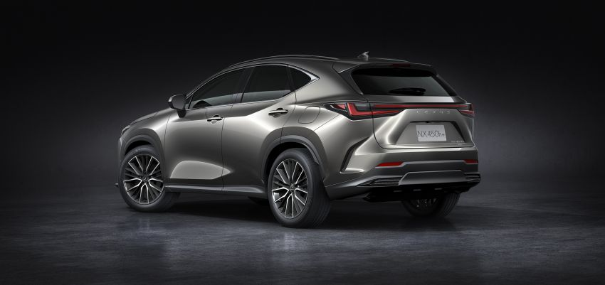 2022 Lexus NX officially revealed – second-gen SUV gets PHEV, 2.4 Turbo; new rear logo, interior concept Image #1306445