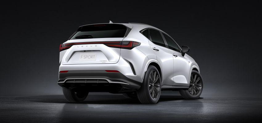 Lexus NX 2022 didedah – generasi kedua dirombak sepenuhnya, dapat enjin hibrid, PHEV dan 2.4 Turbo Image #1306910