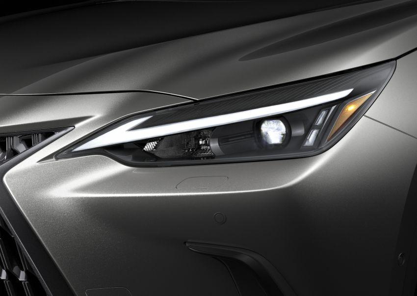 Lexus NX 2022 didedah – generasi kedua dirombak sepenuhnya, dapat enjin hibrid, PHEV dan 2.4 Turbo Image #1306911