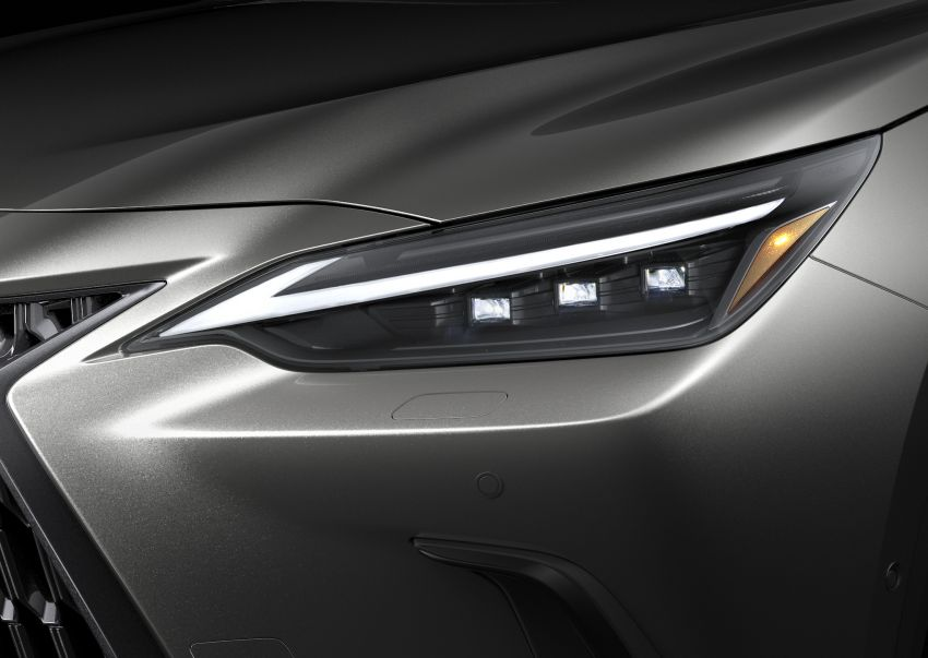 2022 Lexus NX officially revealed – second-gen SUV gets PHEV, 2.4 Turbo; new rear logo, interior concept Image #1306448