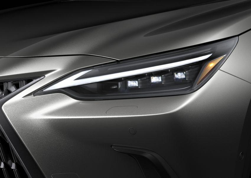 Lexus NX 2022 didedah – generasi kedua dirombak sepenuhnya, dapat enjin hibrid, PHEV dan 2.4 Turbo Image #1306913