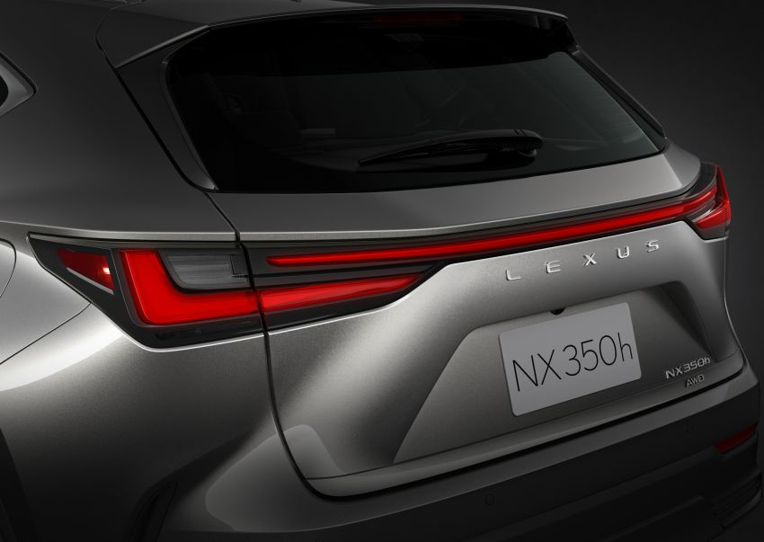 2022 Lexus NX officially revealed – second-gen SUV gets PHEV, 2.4 Turbo; new rear logo, interior concept Image #1306450